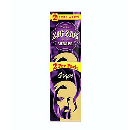 Zig Zag Grape Cigar Wraps (5 ct., 15 pk.)