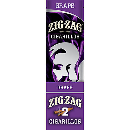 Zig Zag Single Cigarillos Strawberry - 25 ct.