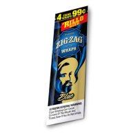 Zig-Zag Blue Cigar Wraps Prepriced 4 for $.99 (4 pk., 15 ct.)