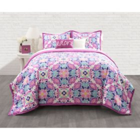 Floral Marrakesh Comforter Set (Assorted Sizes)
