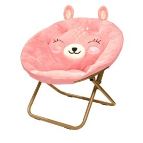 Plush Critter Saucer Chair - Various Designs
