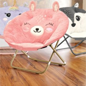 Miraculous Plush Critter Saucer Chair Various Designs Sams Club Squirreltailoven Fun Painted Chair Ideas Images Squirreltailovenorg