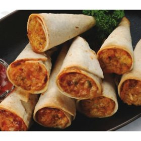The Fillo Factory Chicken and Cheese Quesadilla Trumpets, Frozen (28 ct.)
