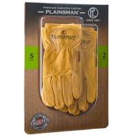 Plainsman Tan Leather Gloves - 2 Pairs