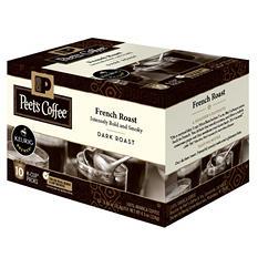 Peet's Coffee French Roast, Dark Roast (60 K-Cups)