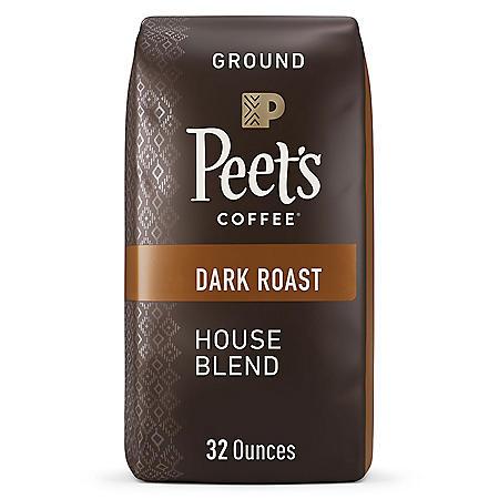 Peet's House Blend Ground 32 oz