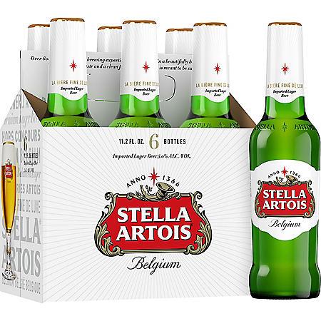 Stella Artois (11.2 fl. oz. bottle, (6 pk.)