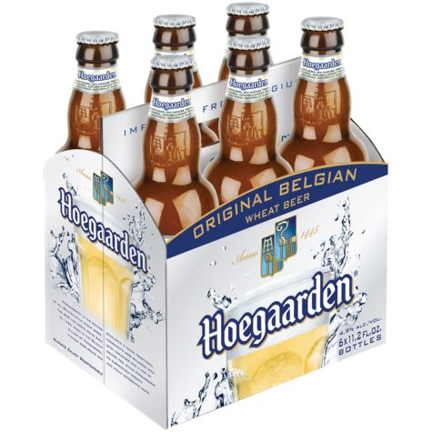 Hoegaarden Original Belgian Wheat Beer (11.2 fl. oz. bottle, 6 pk.)