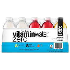 Glaceau VitaminWater Zero, Variety Pack (20 fl. oz., 20 pk.)