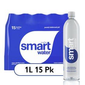 Glaceau SmartWater (1 L., 15 pk.)