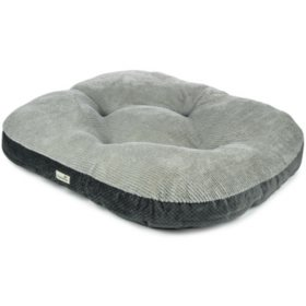 "TrustyPup Thermaluxe Pet Bed, Gray (40"" x 35"")"