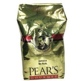 PEAR'S GOURMET Premium Ground Coffee, Jamaica Me Nuts (32 oz.)