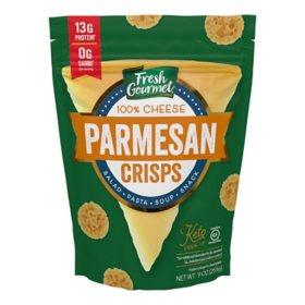 Fresh Gourmet Parmesan Cheese Crisps (9 oz.)