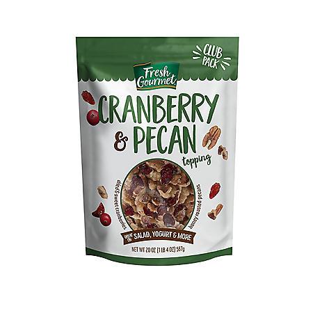Fresh Gourmet Topping, Cranberry & Pecan (20 oz.)