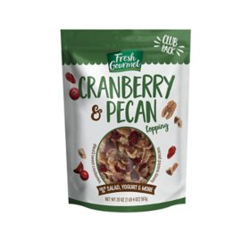 Fresh Gourmet Topping, Cranberry & Pecan (20 oz.)