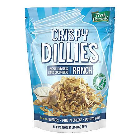 Fresh Gourmet Crispy Dillies, Ranch (20 oz.)