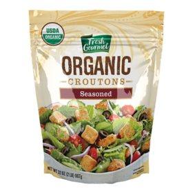 Fresh Gourmet Organic Seasoned Croutons (32 oz.)