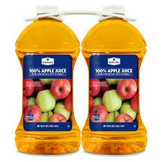 Member's Mark 100% Apple Juice (96 oz. bottle, 2 pk.)