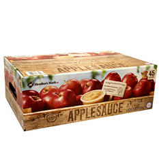 Members Mark Applesauce (4 oz. ea., 45 ct.)