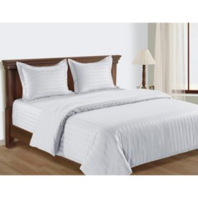 Member's Mark 650-Thread-Count Egyptian Cotton Reversible Comforter Set (Assorted Sizes and Colors)
