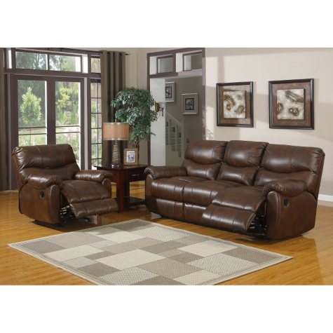 Jacob Reclining Sofa and Rocker Recliner