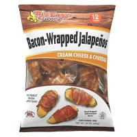 Big Easy Bacon-Wrapped Jalapenos, Frozen (12 ct.)