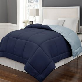 Blue Ridge Reversible Color Microfiber Comforter (Assorted Sizes and Colors)