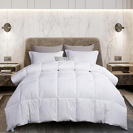 Martha Stewart 240 Thread Count White Goose Feather and Down Comforter (Various Sizes)