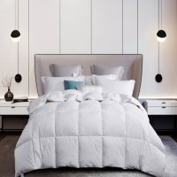 Martha Stewart 240 Thread Count White Goose Down and Feather Comforter (Various Sizes)