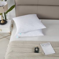 """Martha Stewart Euro 26"""" x 26"""" Square Feather Pillow Insert, 2 Pack"""