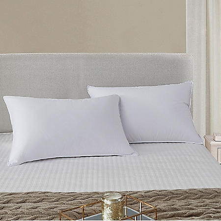 Scott Living 225 Thread Count Tencel Blend Pillow, 2-pack (Jumbo or King)