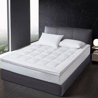 Scott Living 225 Thread Count Tencel And Poly Filled Mattress Topper (Assorted Sizes)