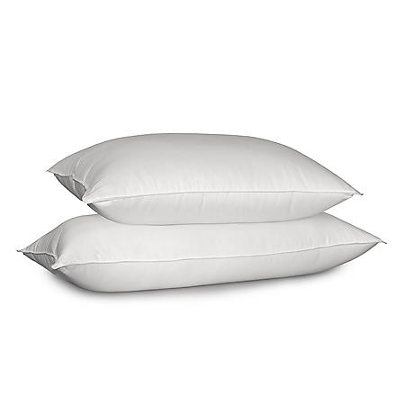 Siberian 700-Thread-Count White Down Pillow