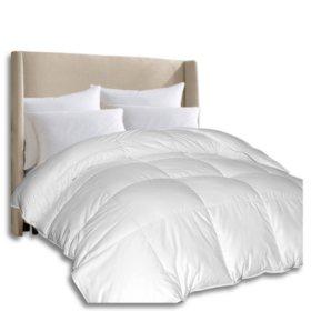 1000-Thread-Count Pima Cotton Down Alternative Comforter (Assorted Sizes)