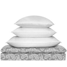 Siberian 1000-Thread-Count White Down Pillow