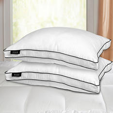 ELLE Home 1000-Thread-Count Down Alternative Pillows, Jumbo (2-pack)