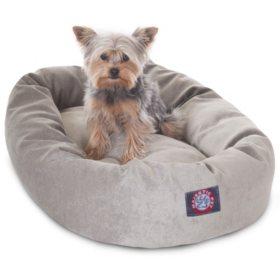 Super Majestic Pet Velvet Bagel Pet Bed 24 Choose Your Color Creativecarmelina Interior Chair Design Creativecarmelinacom