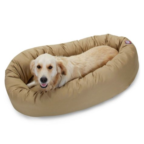 "Bagel Pet Bed, 40"" (Choose Your Color)"