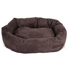"Majestic Pet Suede Bagel Pet Bed, 40""  (Choose Your Color)"