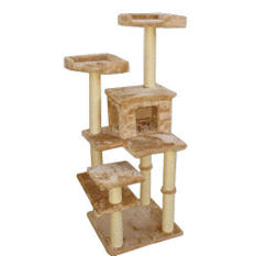 "Majestic Pet Casita Cat Tree - 66"""