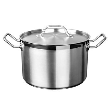 Stainless Steel Stock Pot With Lid - Various Sizes