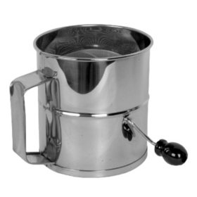 "8 Cup Flour Sifter - 6.8"" x 6.3"" x 8.8"""