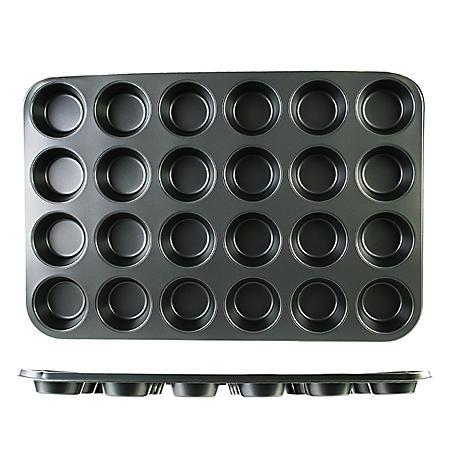 Nonstick Muffin Pan - 24 Standard Cups