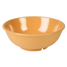 Melamine Salad Bowl - Yellow - 12 pk. - 7 1/2""