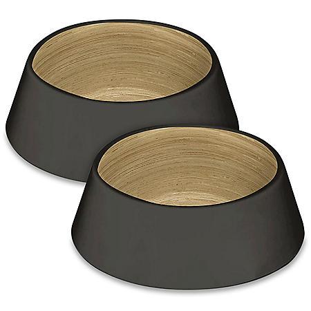Life Happens Pet Bowl, Medium, 2 Pack (Choose Your Color)