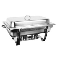 8 Qt. Stainless Steel Stackable Chafer