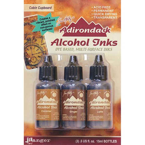 Adirondack Alcohol Ink 3-Pack (.5 Oz Each) - Cabin