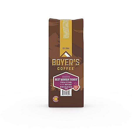 Boyer's Coffee Rocky Mountain Thunder, Ground (2.25 lb.)
