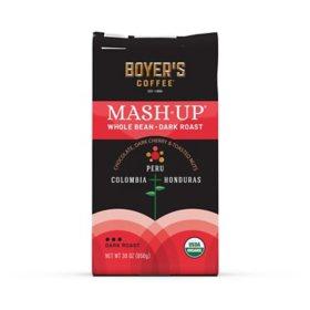 Mash-Up Organic Whole Bean Coffee, Dark Roast (30 oz.)