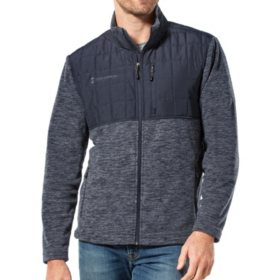 Free Country Men's Fleece Base Camp Jacket